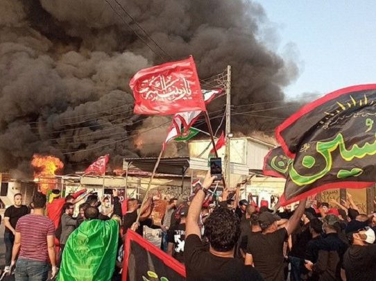 """Muchedumbre ataca una cadena de TV en Irak acusada de """"insulto a la religión"""""""