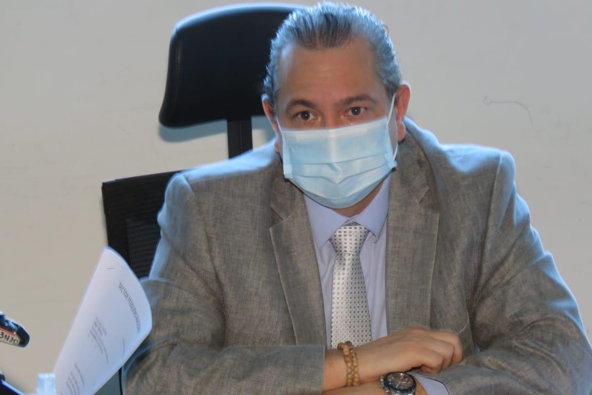 Diputado Fernando Arce da positivo a Covid-19