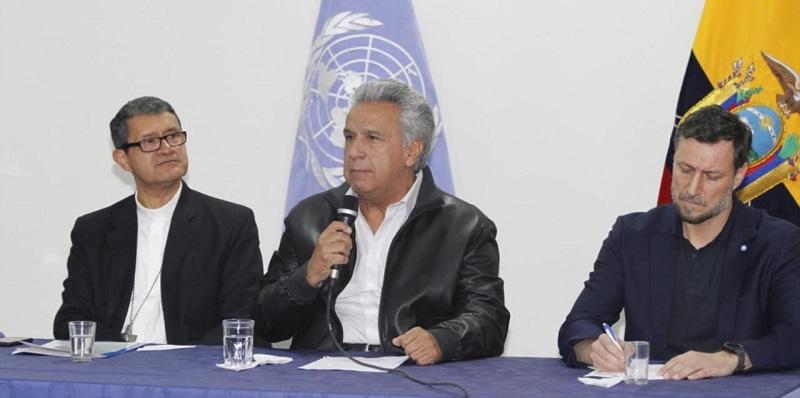 Ecuador pone fin a violenta crisis con acuerdo que revoca desmonte de subsidios
