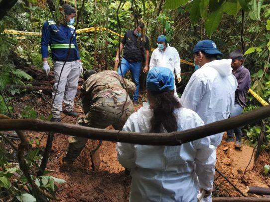 Dan con el hallazgo de fosa clandestina en la comarca Ngäbe Buglé