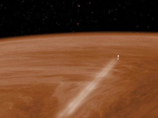 """Gas en Venus es el """"más importante"""" hallazgo en la búsqueda de vida extraterrestre, dice jefe de NASA"""