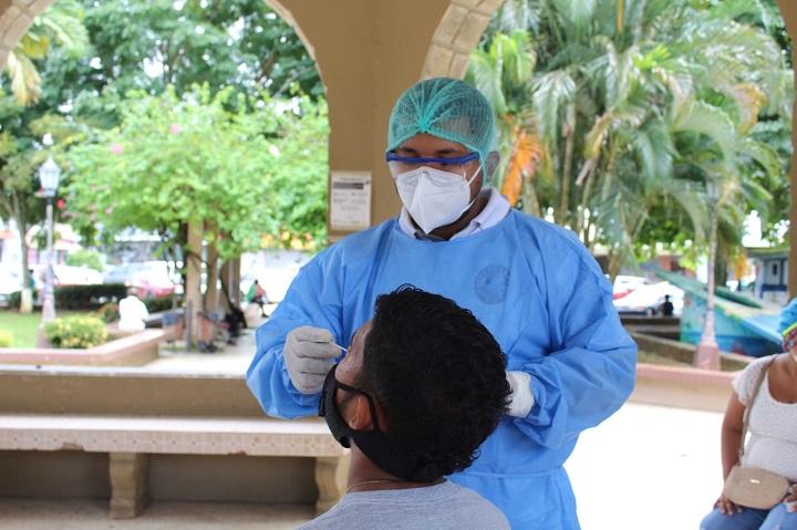 Detectan 459 nuevos casos de Covid-19 y 7 muertes cifra sube a 2,173