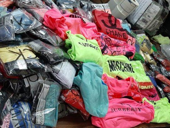 Decomisan mercancía falsa en zona aeroportuaria de Tocumen