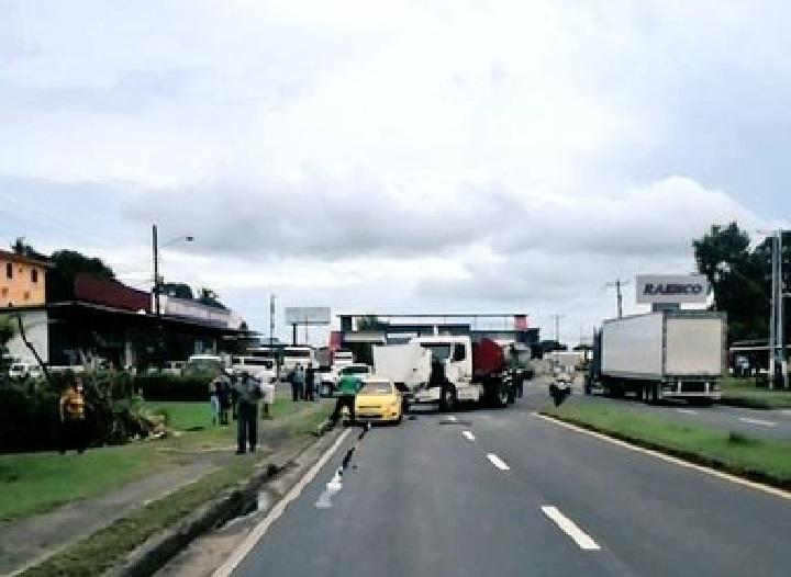 Seis heridos tras fuerte colisión en Chame
