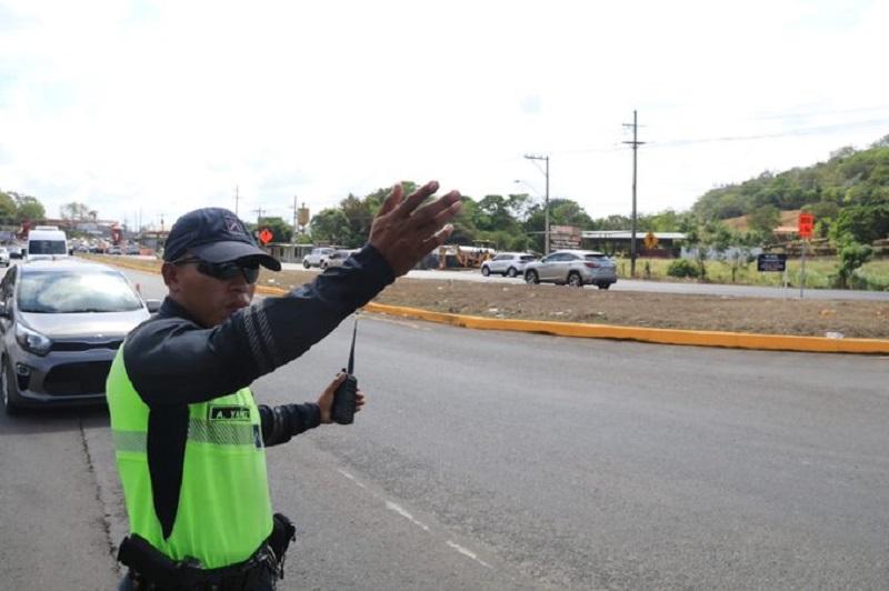 Inversión de carriles en Panamá Oeste este fin de semana