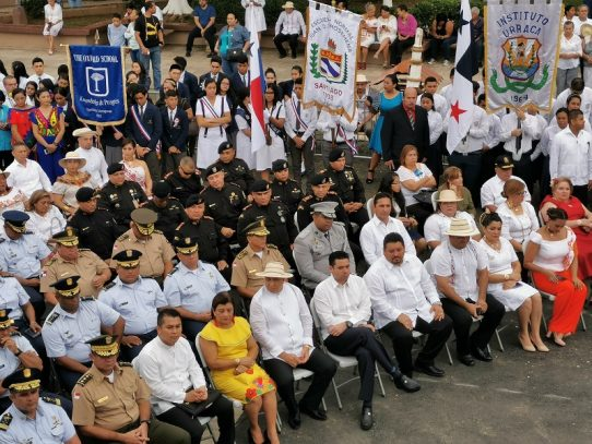 Santiago de Veraguas celebra 116 años de Adhesión al Movimiento Separatista