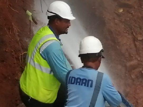 Varios sectores de Panamá Norte sin servicio de agua potable