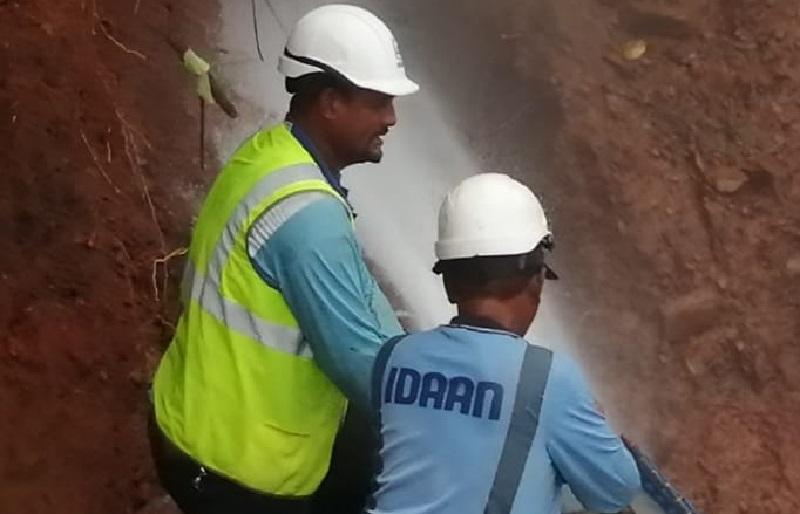 IDAAN realizará trabajos este domingo en la Vía Tocumen, conozca las áreas afectadas
