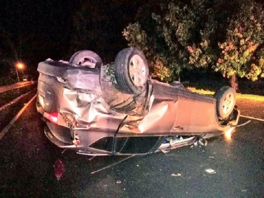 Dos heridos tras accidente de tránsito en Atalaya