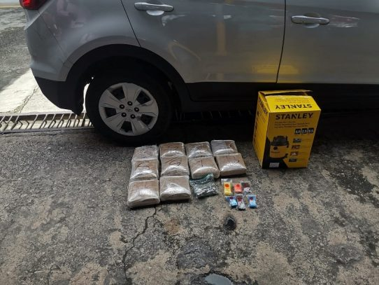 Aprehendido por transportar droga en el Corredor Sur