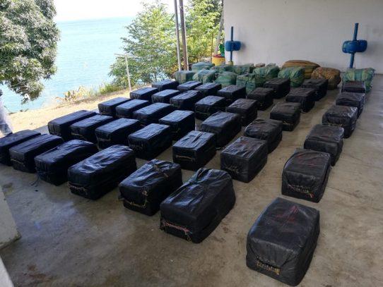 Millonario decomiso de droga en Punta Burica