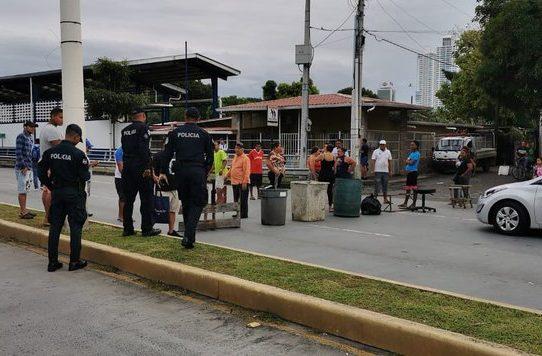 Cierres de vías por protestas en Panamá y San Miguelito