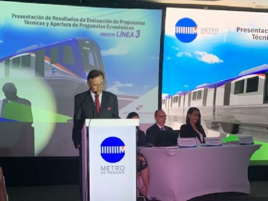 El Consorcio coreano HPH ganó a licitación para la construcción de la Línea 3 del Metro de Panamá