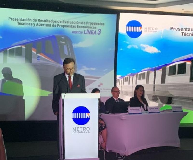 Consorcio HPH gana licitación para construir la Línea 3 del Metro