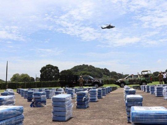 Detención provisional a tres colombianos por tráfico internacional de drogas