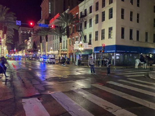 Once heridos en tiroteo en Nueva Orleans, EEUU