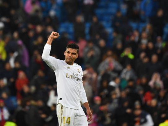 Casemiro ofrece el liderato al Real Madrid