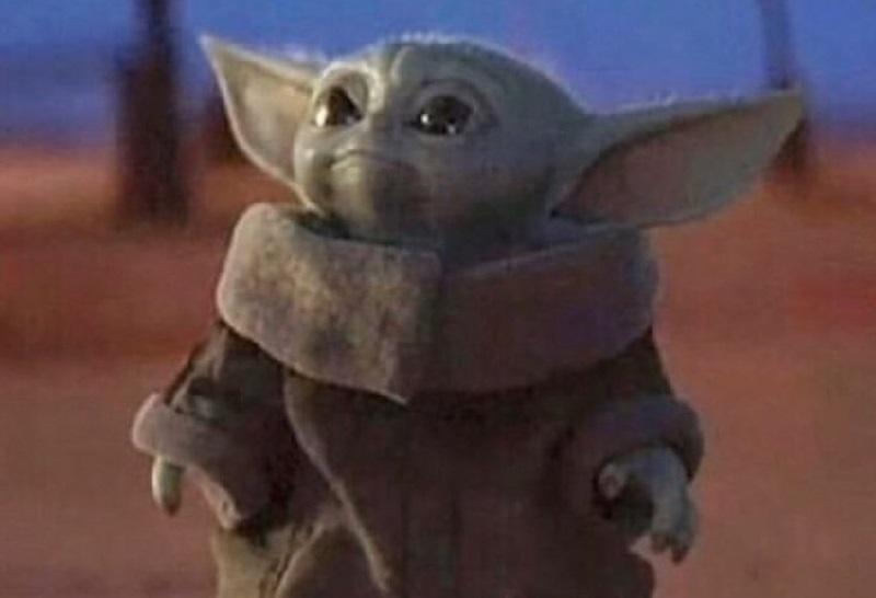 El adorable Baby Yoda se hace viral
