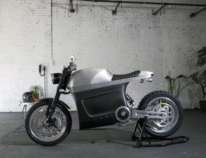 'La motocicleta del mañana' tiene mucho estilo y poco impacto ambiental
