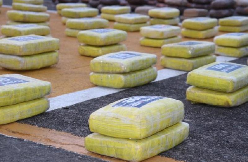 Incautan 463 paquetes con droga en Panamá Oeste