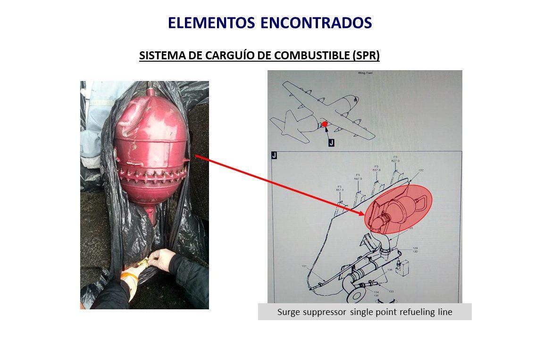 Fuerza Aérea de Chile revela imágenes del avión siniestrado