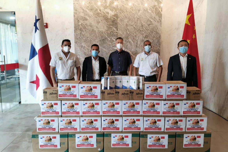 Embajada de China dona insumos para lucha contra el Covid-19 en Veraguas