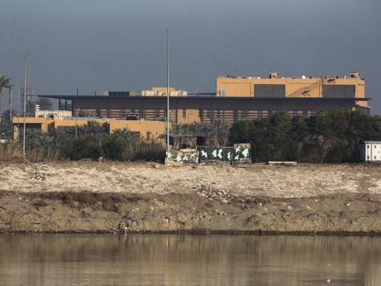 Al menos dos cohetes impactan cerca de la embajada estadounidense en Bagdad