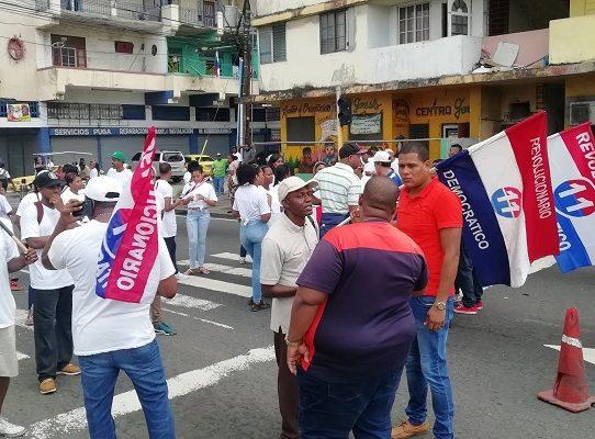 Protestas en Colón, jóvenes exigen empleo al Gobierno de Cortizo