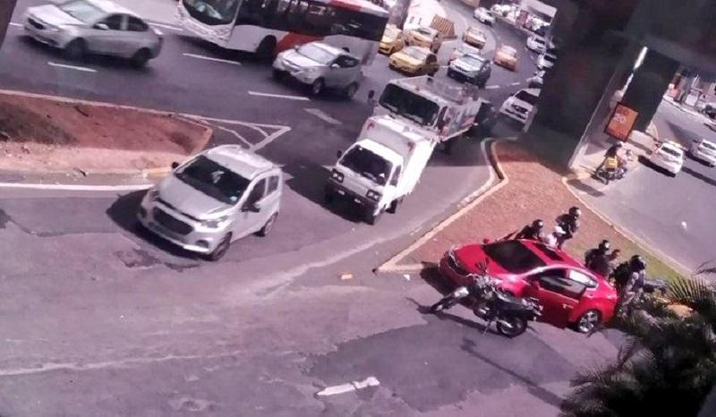 Delincuentes intentaron robar una planilla en Paitilla