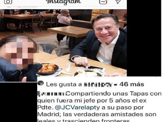 Juan Carlos Varela en Madrid mientras persiste escándalo por #VarelaLeaks