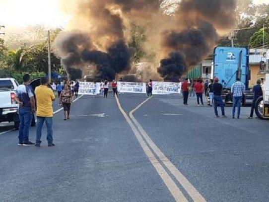 Empresarios preocupados por nuevo llamado a protestas en Colón