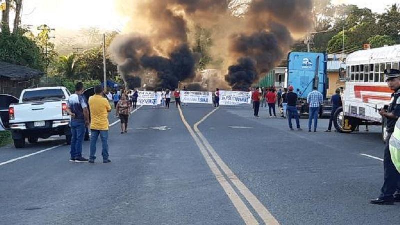 Anuncian protestas en la provincia de Colón el 3 y 4 de febrero