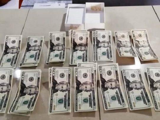 Capturan a dos hombres con supuesto dinero falso en Panamá Este