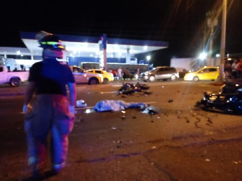 Muerto por hecho de tránsito en la provincia de Veraguas