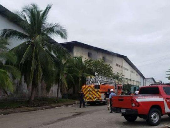 Incendio en France Field, Zona Libre, Colón