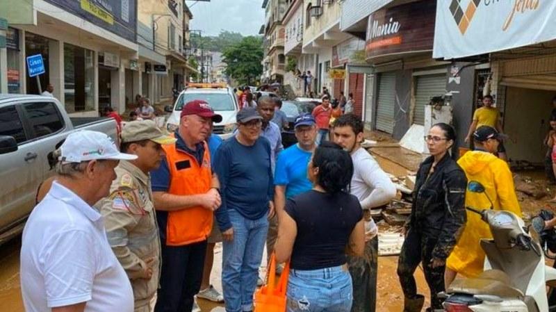 Aumenta a seis número de muertos por lluvias torrenciales en el sureste de Brasil