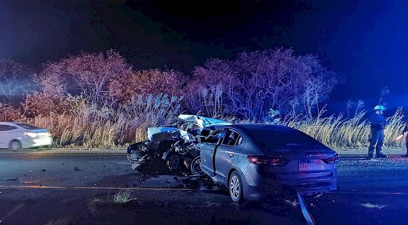 Detención provisional implicado en accidente vehicular que dejó un policía muerto