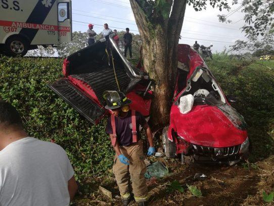 Accidente de tránsito deja una víctima fatal en Bocas del Toro