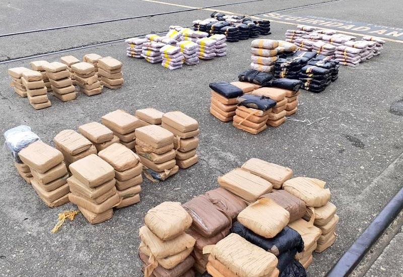 Incautan 576 paquetes con sustancia ilícita en isla Ensenada, Capira