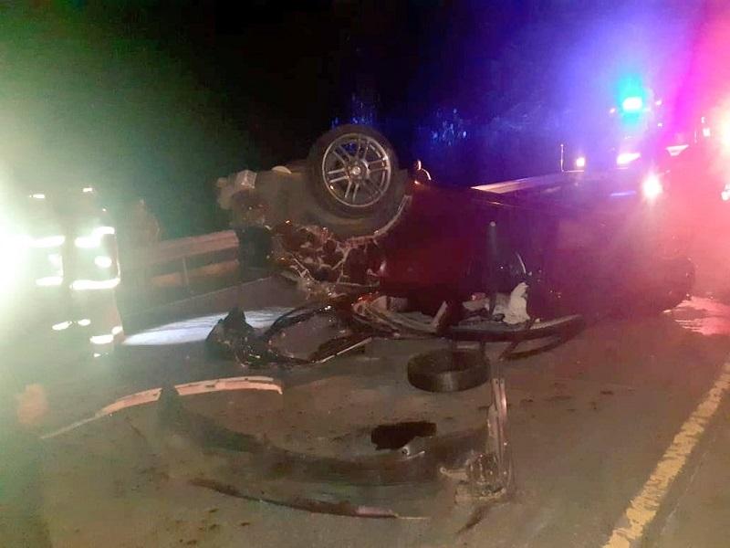 Accidente de tránsito deja un herido grave en Bugaba