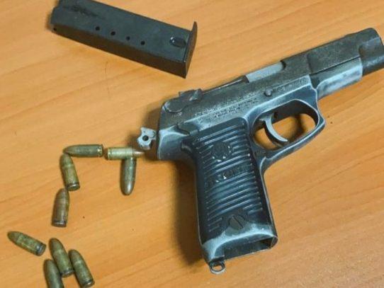 Niña de tres años recibió rozón de bala en Colón