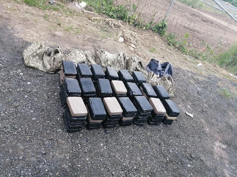 Decomisan 100 paquetes con  sustancia ilícita en Arraiján