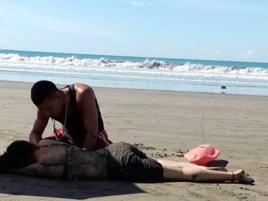 Guardavidas realizan tres rescates en diferentes playas