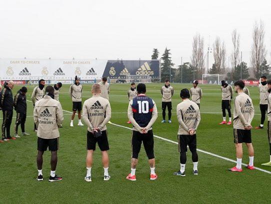 El Real Madrid guarda un minuto de silencio por Kobe Bryant