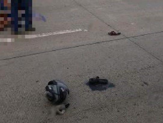 Menor de 12 años muere en accidente de tránsito en el Corredor Sur