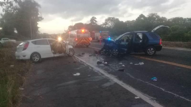 Un muerto y varios heridos en accidente de tránsito en Colón