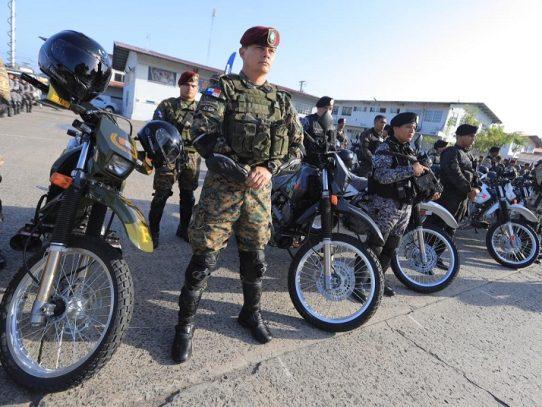 Entregan 370 motos a los estamentos de seguridad