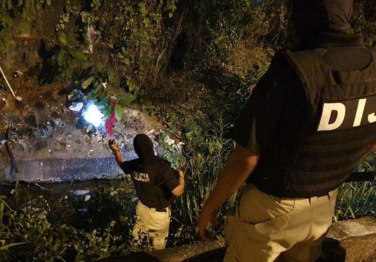 Fuerte operativo antipandillas en el distrito de San Miguelito