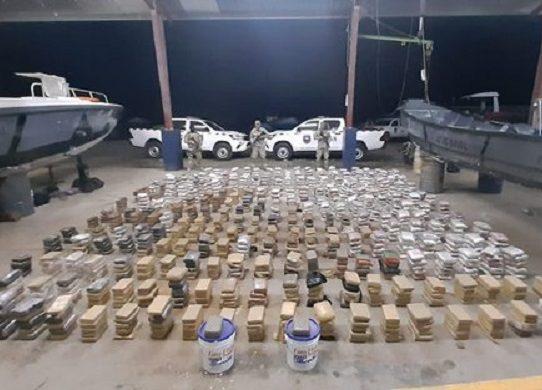 Decomisan 367 paquetes con droga en Punta Burica