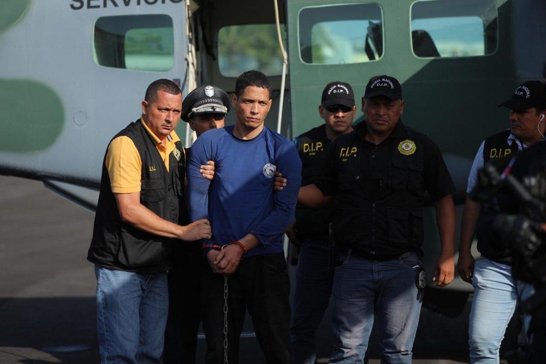 Trasladan a Ventura Ceballos a la sede de la Policía Nacional